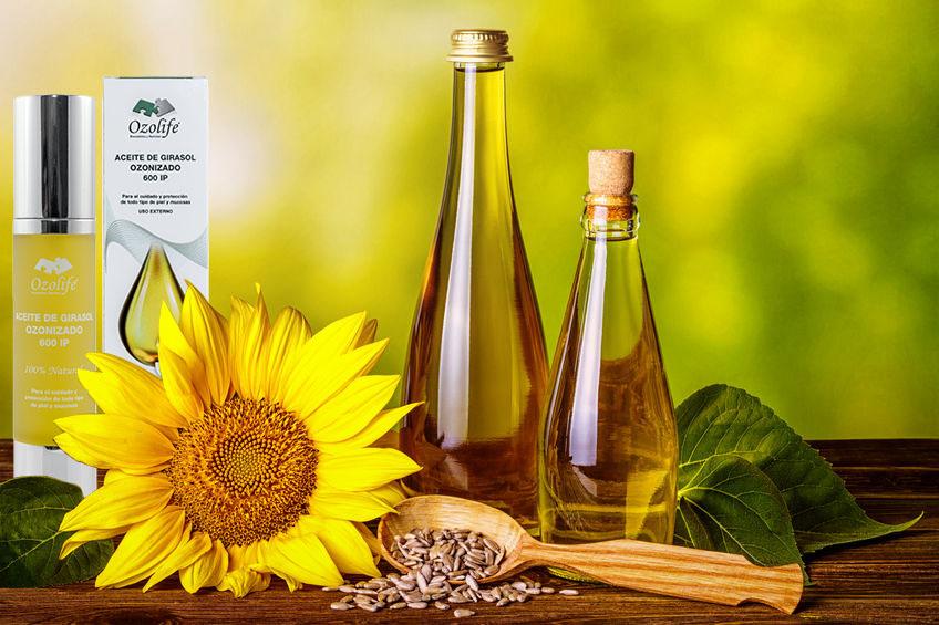 aceite de girasol ozonizado
